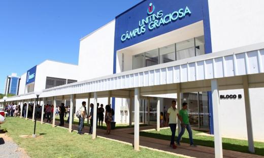 Candidatos podem realizar inscrição no site www.unitins.br