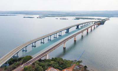A nova ponte terá 1.488 metros e será construída ao lado da antiga estrutura
