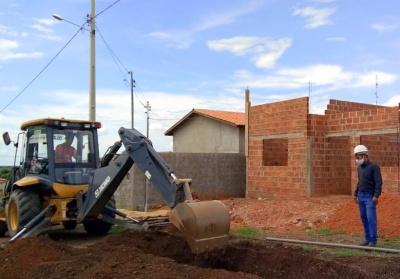Obras de saneamento possibilitam a construção de novas moradias nas áreas beneficiadas