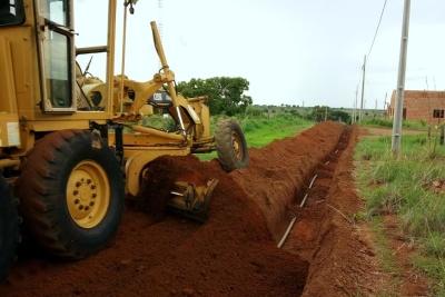 Obras no município de Sandolândia contaram com o investimento de mais de R$ 17 mil