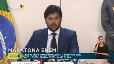 Ministro das Comunicações, Fabio Faria destacou que a iniciativa visa alcançar grande parte dos estudantes brasileiros