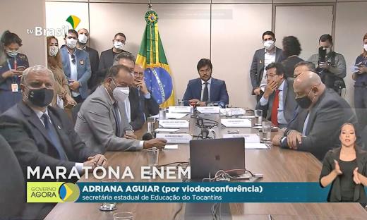 O projeto Maratona Enem foi lançado na tarde desta terça-feira, 12, em Brasília