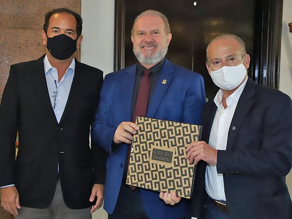 Governador Mauro Carlesse apresentou projetosestruturantes do Tocantins para representante do Ministério da Economia
