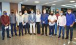 Governador Carlesse recebe nove prefeitos do interior acompanhados do vereador de Palmas, Pedro Cardoso