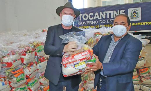 Continuidade da ação de entrega das cestas básicas visa garantir segurança alimentar dos impactados pela Covid-19