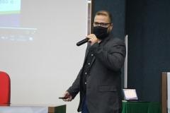 O gerente de Transparência e Controle Social da CGE-TO  apresentou ferramentas de participação social