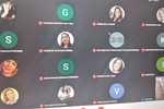 Servidores da Regional participam da formação por meio do Google Meet