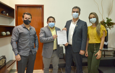Detran/TO recebe visita de representantes da AMTT de Gurupi