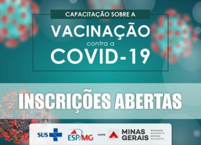 Capacitação sobre a vacinação contra a COVID-19