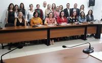 Membros representantes de instituições e setores da  sociedade no FEE/TO.