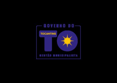 Logo Governo do TO - Vertical