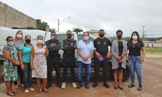 Custodiados já tiveram as primeiras atividades nesta semana, após aula inaugural com a presença do prefeito Paulo Roberto