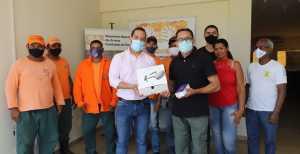 Monaf recebe drone e smartphone para o monitoramento de queimadas