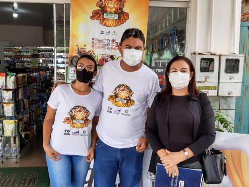A divulgação da campanha tem sido feita pelos lojistas que se mostram satisfeitos com os resultados positivos da ação
