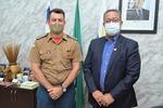A convite do secretário da Indústria, Comércio e Serviços (Sics), Tom Lyra, o Comandante-Geral do Corpo de Bombeiros, Coronel Leandro, esteve na sede da Pasta.