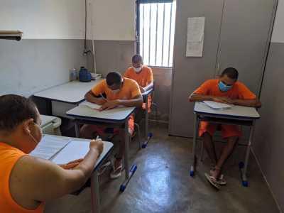 Ao todo, 29 Unidades Penais inscreveram custodiados no Enem PPL
