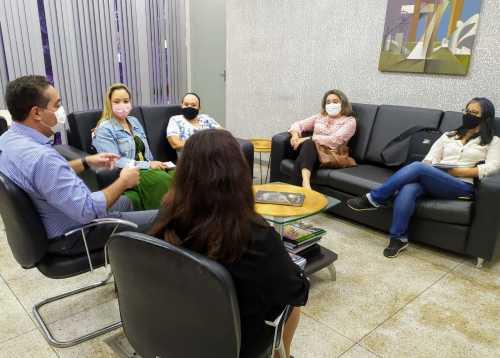 Reunião com as representantes da UFT ocorreu nesta sexta