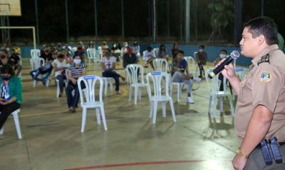 Polícia Militar destacou o compromisso das escolas Cívico-Militares com a Educação Tocantinense