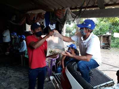 O projeto Barraginhas visa renovar o lençol freático, atualmente também é usado para criação de peixes