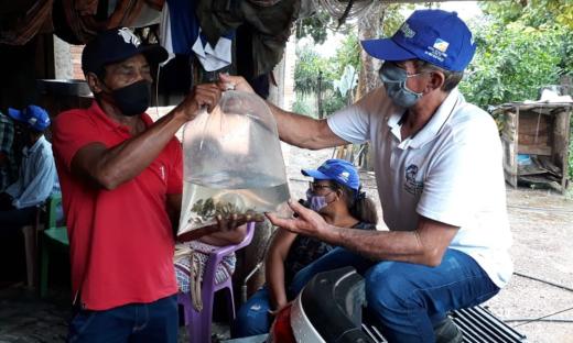 Projeto Barraginhas visa renovar o lençol freático, atualmente também é usado para criação de peixes