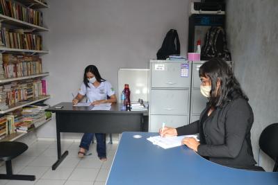 Equipe de assistência social e segurança da Unidade e da Seciju organizaram a ação para fotografar 18 custodiadas