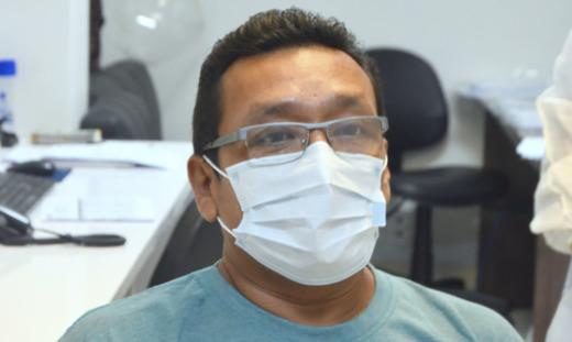 Francisco foi um das centenas de pacientes que receberam alta hospitalar