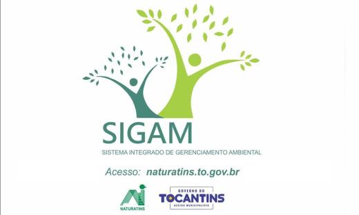 O Sigam foi projetado para ampliar a capacidade de gestão das Licenças e Autorizações emitidas pelo Naturatins