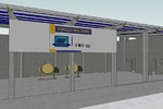 O projeto dos espaços multiuso foram elaborados pela gerência do Setor de Projetos da Seciju