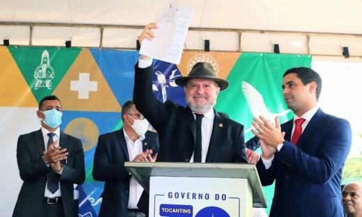 Governador Mauro Carlesse assina o encaminhamento da nova lei de Licenciamento Ambiental à Assembleia Legislativa