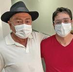 José Hugo chegou a ir para a UTI, mas venceu a doença