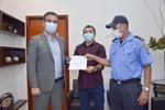 Presidente do Detran recebe visita de Secretário de Segurança Pública de Porto Nacional
