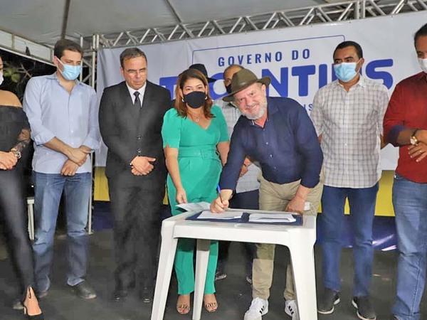 Governador Carlesse assina Termo de Renovação de Convênio assegurando a continuidade da parceria do Governo do Estado com a Agab