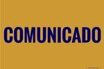 COMUNICADO - Comprovante de Rendimentos