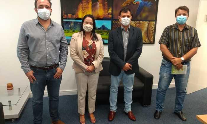 A visita teve por finalidade realinhar e reativar todo o processo de capacitação do órgão rural ao Sistema de Correspondentes Mais Banco do Brasil (Coban)