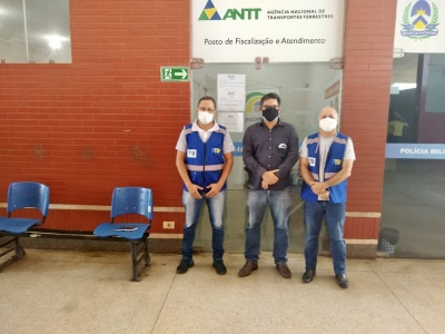 A reunião aconteceu no terminal rodoviário da capital
