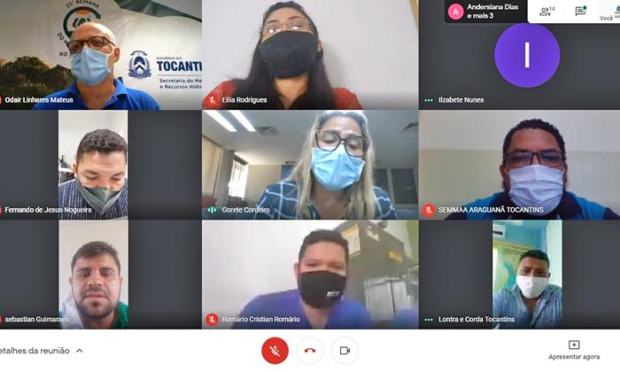 O 1º encontro do ano foi realizado por meio de videoconferência