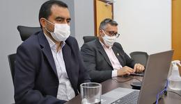 Vice-governador Wanderlei Barbosa participa de reunião do Fórum de Governadores da Amazônia Legal, que contou com a presença do embaixador americano