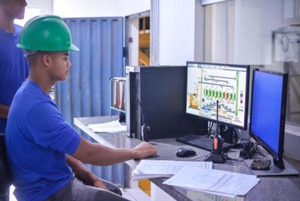A construção civil foi um dos setores que apresentou crescimento no número de contratações
