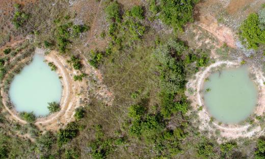Projeto Barraginhas desenvolvido na região sudeste do estado