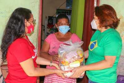 Foto 1 - As cestas estão sendo entregues nos Centros de Referências de Assistência Social (Cras) dos municípios contemplados.jpeg