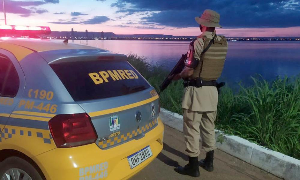 Patrulheiros estão sempre atentos para garantir a segurança das vias - Polícia Militar/Governo do Tocantins
