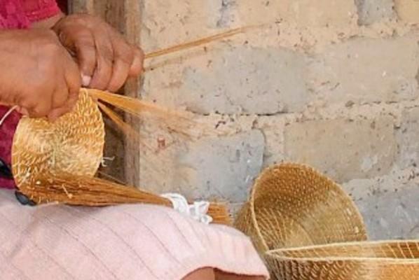 Artesanato de Capim Dourado produzido pelas comunidades do Jalapão