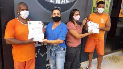 As atividades escolares na Unidade Penal foram iniciadas no dia 29 de março
