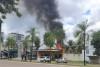 Ação rápida dos bombeiros militares combateu o fogo, impedindo que as chamas se alastrassem