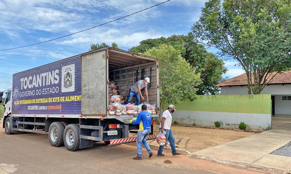 O objetivo da ação do Governo do Tocantins é garantir a segurança alimentar e nutricional das famílias - Halana Santos/Governo do Tocantins