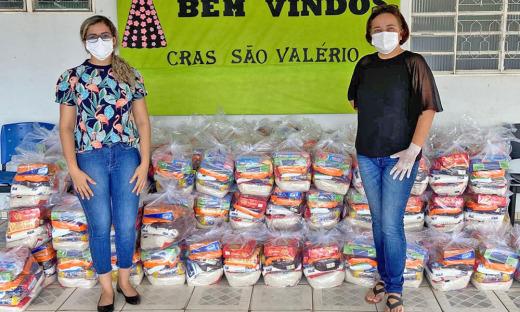 A coordenadora do Cras de São Valério, Michele da Silva Mesquita, agradeceu ao Governo do Tocantins, Setas e parceiros na ação