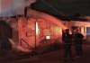O fogo consumiu alguns pertences dos moradores, residentes na 305 Norte, em Palmas