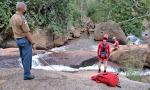 Buscas estão sendo feitas por mergulhadores do Corpo de Bombeiros Militar desde domingo