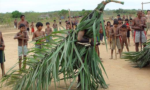 Festa do Tamanduá  do Povo Xerente