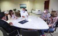Assinatura do Acordo de Cooperação na Gestão do Sistema UAB e E-Tec Brasil em Palmeirópolis - TO.